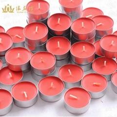 100粒一盒的蠟燭無煙