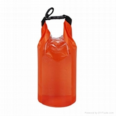 promotion 190T PVC inflatable waterproof travel dry bag