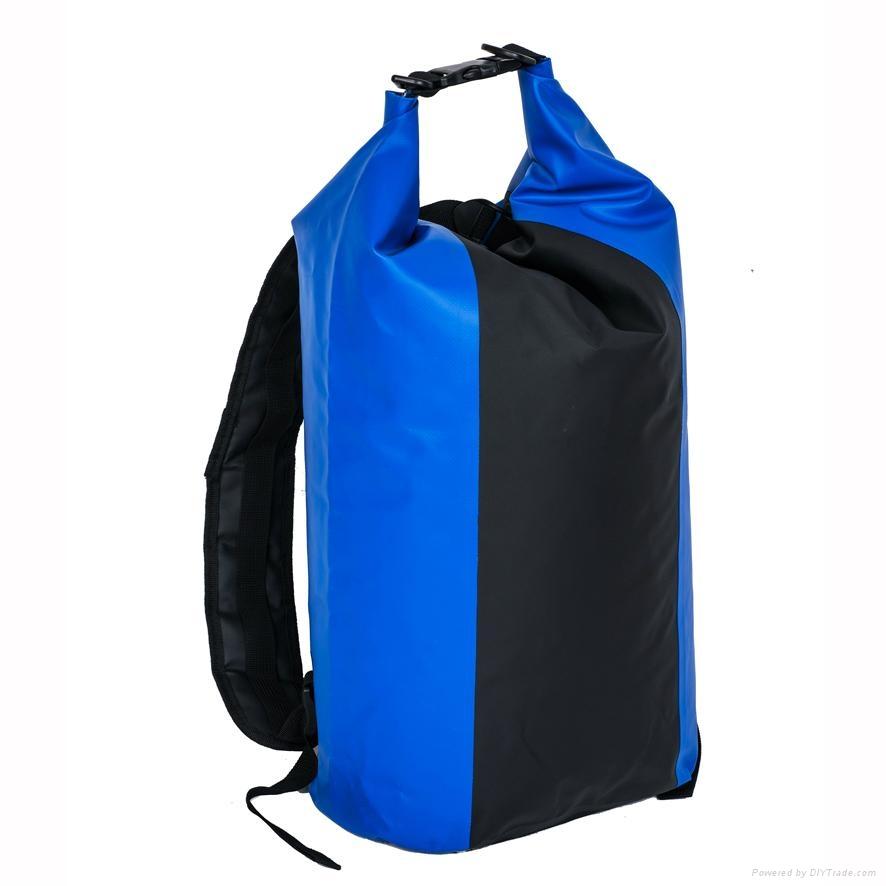 b92dfd720fe2 ... PVC tarpaulin swimming Waterproof Backpack Dry Bag Day Pack or PVC  custom logo w 3 ...