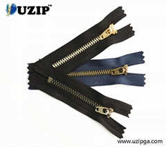Jean Collection Coil Zippers with Slider