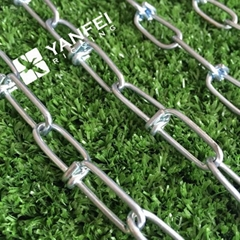 Stainless Steel AISI304/316 Knotted Chain Metal Link Chain for Dog