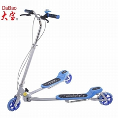 adult kick scooter with three wheels