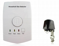 Wall Mounted Gas Leak Detector Sensor Home Security Alarm System