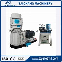 China flat die wood pellet mill