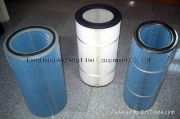 Antistatic filter dust cartridge 3