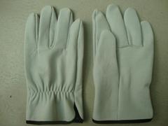 Sheep skin leather glove