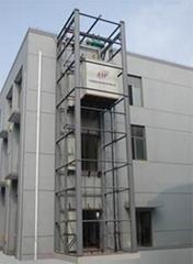 双体式导轨式升降货梯