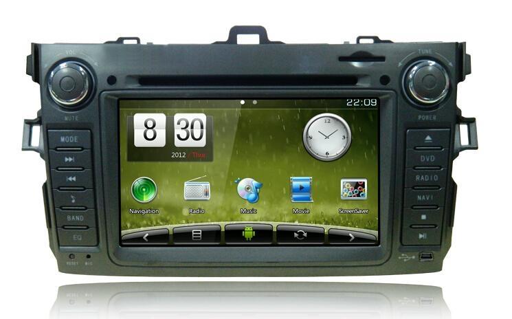 Newsmy Toyota 2014 Prado High version 4.0L VX CarPAD II AndroidCAR DVD PLAYER GP 1
