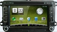 Newsmy Vw Magotan car gps player  navigation 2 DIN 8 Inch CAR DVD PLAYER GPS