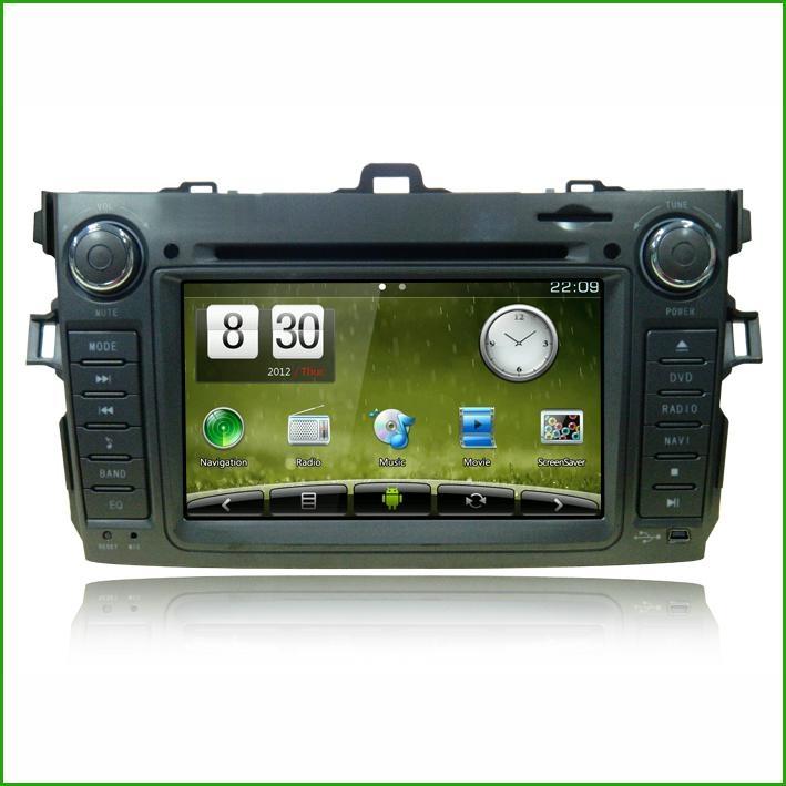 Newsmyfor Toyota 2012 Corolla CAR DVD CAR DVD PLAYER WITH GPS 1