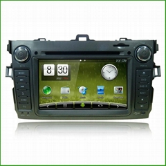 Newsmyfor Toyota 2012 Corolla CAR DVD CAR DVD PLAYER WITH GPS