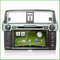Toyota 2014 Prado CAR DVD PLAYER Car DVD Navigation CAR DVD PLAYER WITH GPS CAR