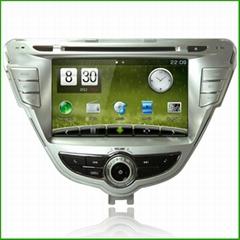 Newsmy For Hyundai 2012 Elantra CarPAD2 Wince dual system GPS NAVIGATION CAR GPS