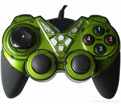 Double shock game joypad