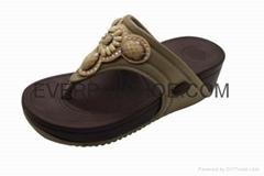 Diamond flip flops sandals