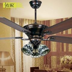 53 inch decorative home ac ceiling fan