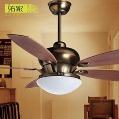 52 inch fancy light fixture adaptable ceiling fan