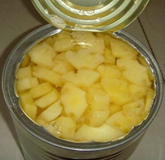 Canned pineapple piece i