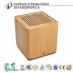 海榕高品质便携竹子蓝牙音箱