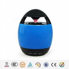 Hairong portable egg shape 3.0 EDR mini cute bluetooth speaker
