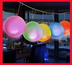 Round Shape LED flashing balloon