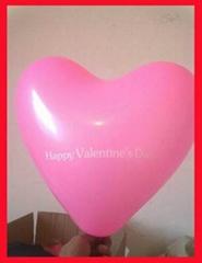 LED flashing balloon Heart Shape