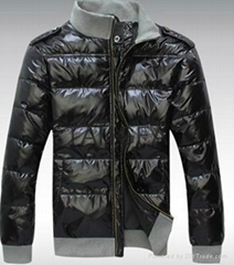 2014 Clear Stock men cheapest warm red down coat free shipping