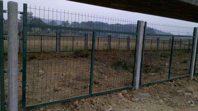 金属网片防护栅栏 1