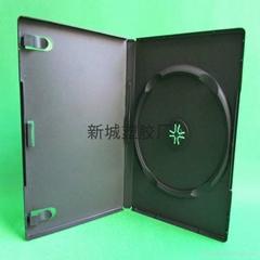14mm pp single black dvd case