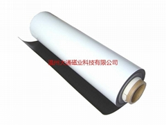 hot sale rubber coated fridge magnet