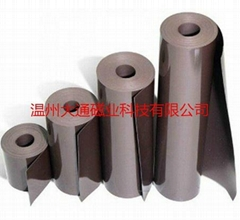 strong rubber magnet with double-sided tape