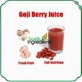 Goji concentrate juice Natural goji