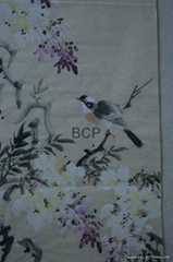 Chinese painting Wisteri