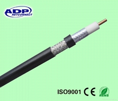coaxial cable for CCTV with certification (CE/ROHS/SGS/ISO)