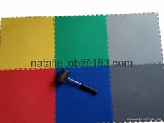 pvc interlocking floor tiles