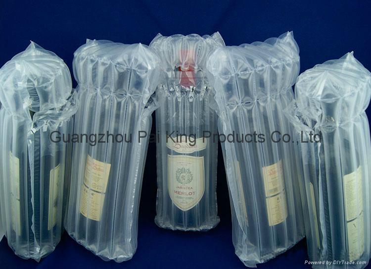 紅酒白酒保護包裝氣柱袋 4