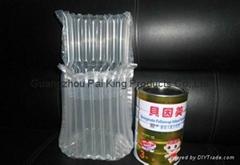 爆款奶粉罐保护气柱袋包装