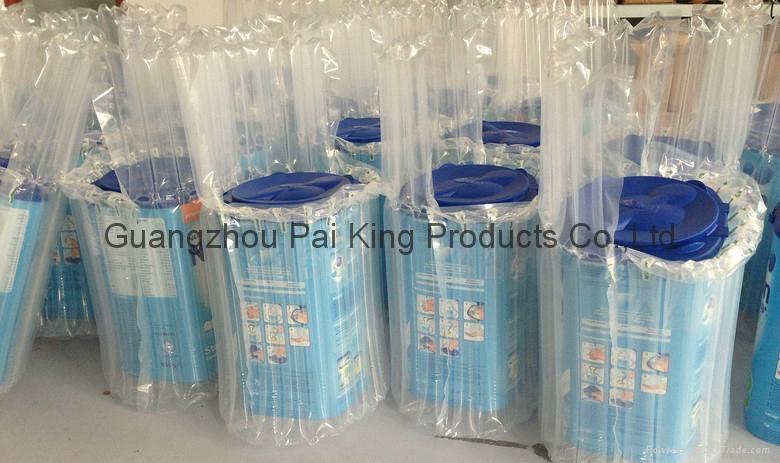 爆款奶粉罐保護氣柱袋包裝 3