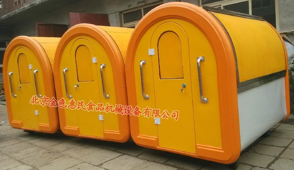 房式手推式早餐車12 1