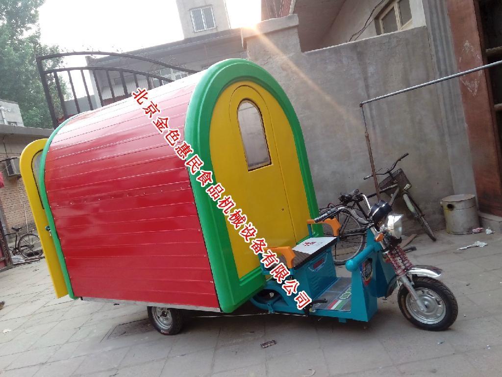房式電動三輪式早餐車01 3