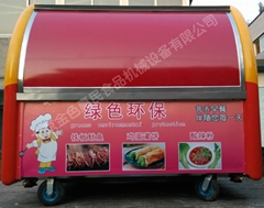 房式手推式早餐車04