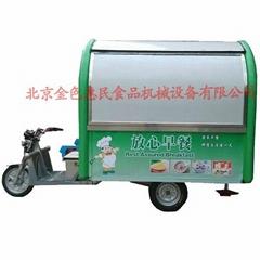 房式電動三輪早餐車05