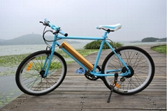 new patent electric bike