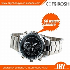 4GB Metal camera Watch SC Mini Camera Waterproof Digital Camera Camcorder Video