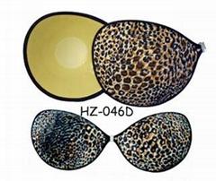 自粘式胸貼,隱形文胸,豹紋超輕型布料文胸