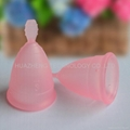 Health new ladies menstrual cup.by medical silicone