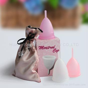 月亮杯 卫生杯 女人杯 月经杯 卫生巾 棉条替代品 月事杯 女人花 2
