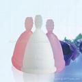 月亮杯 卫生杯 女人杯 月经杯 卫生巾 棉条替代品 月事杯 女人花 3