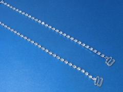 Jeweled Silver Bra Strap