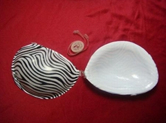 silicone bra with patterns